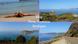 VLOG #4 PORTU TRAMATZU - TEULADA | SARDEGNA ☆ Estate 2016 Sardinia Summer