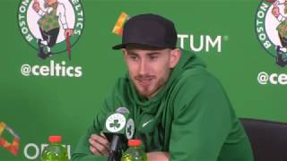Video [FULL] Gordon Hayward's first press conference since injury suffered in Celtics vs. Cavaliers | ESPN download MP3, 3GP, MP4, WEBM, AVI, FLV November 2017