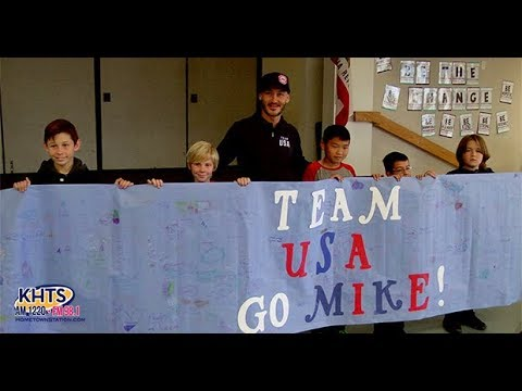 Paralympics Competitor Mike Shea Shares Experiences At Northlake Hills Elementary School