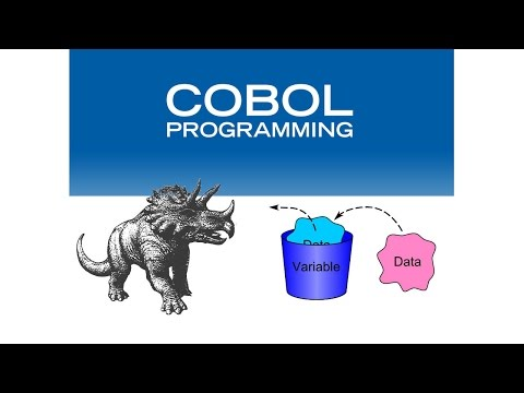 7 - Declaración de Variables en cobol (Curso básico de COBOL)
