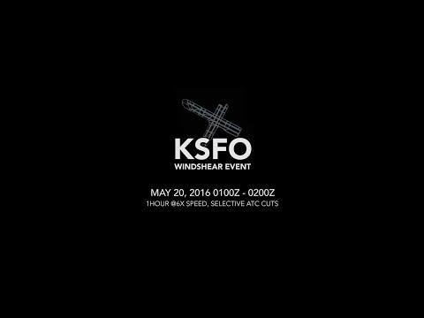 """ATC Audio - SFO Low Level Wind Shear Event - """"It was a freakin' blast man!"""""""