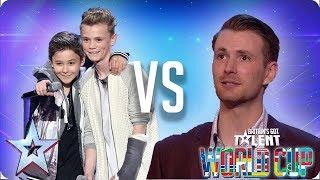 Bars & Melody vs Richard Jones | Britain's Got Talent World Cup 2018