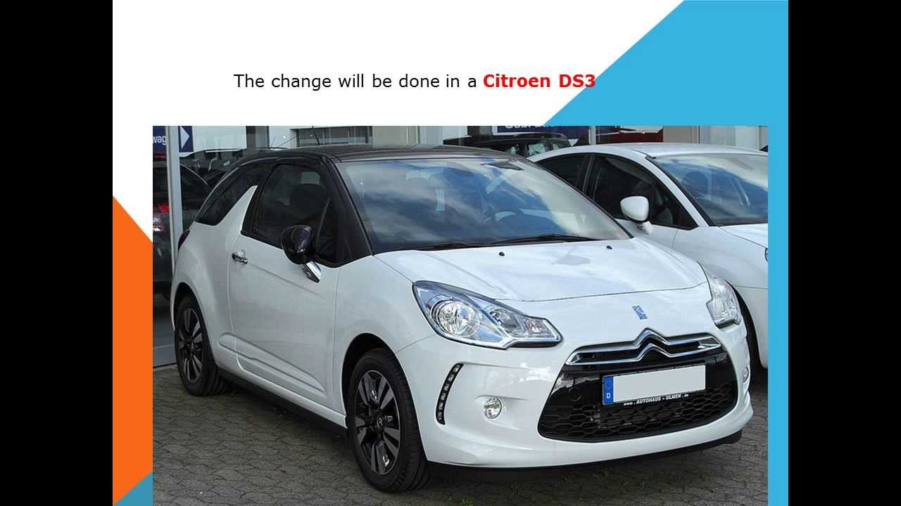 How To Replace The Cabin Air Filter In A Citroen Ds3 Youtube