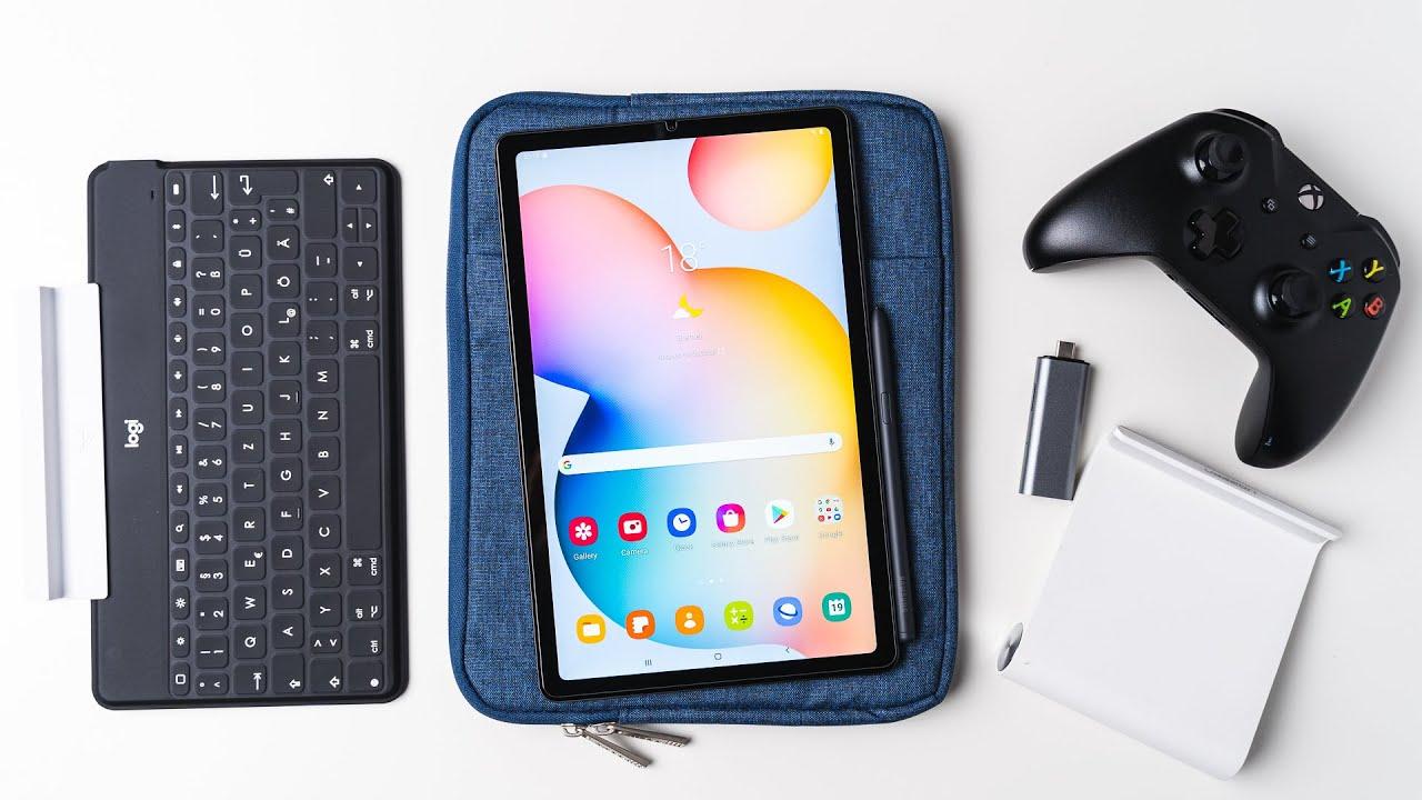 Samsung Galaxy Tab S8 Lite Zubehör: Tastaturen, Hüllen, Gamepads