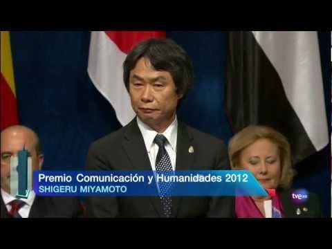 Ceremonia Premios Príncipe de Asturias. Miyamoto (TVE)