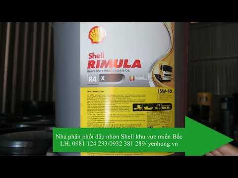 Dâu Nhớt động Cơ Shell Rimula R4 X15W40/20W50 CI4 | Rimula R2 15W40/20W50CF4