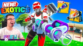 Nick Eh 30 reącts to NEW Burst Quad Launcher!
