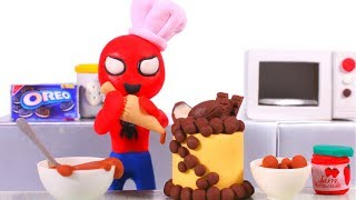 SUPERHERO BABIES BEST CHEFS EVER ❤ SUPERHERO PLAY DOH CARTOONS FOR KIDS