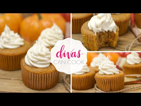 Tip For The BEST Pumpkin Cupcakes W/ Cinnamon Cream Cheese Frosting
