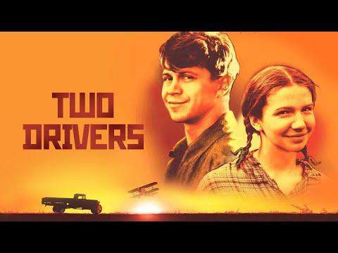 'Ехали два шофера' с английскими субтитрами   'Two drivers' with english subtitles - Ruslar.Biz