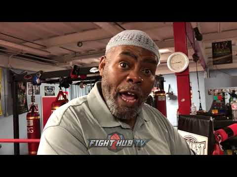 "NAAZIM RICHARDSON ""PEOPLE THINK I DONT BELIEVE IN SPENCE! I JUST NEED TO SEE  A LIL MORE!"""