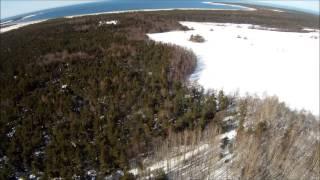 Paramotor trip to Harilaid, Saaremaa 03.04.13