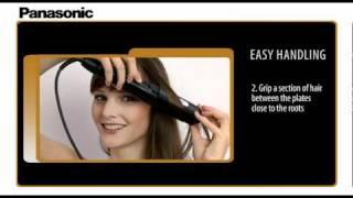 Panasonic EH-HW11/32/51 multi-styling straightener_product video