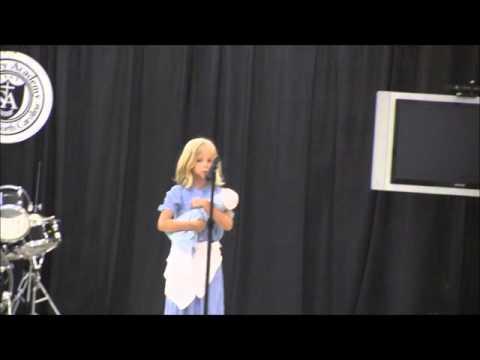 Salisbury Academy Talent Show 2015   Gracie Speiler