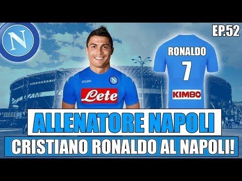 CRISTIANO RONALDO AL NAPOLI!!   FIFA 17: CARRIERA ALLENATORE NAPOLI #52 [By Giuse360]