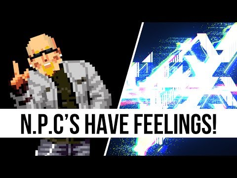 Gaming Non Playable Characters Have Feelings Too