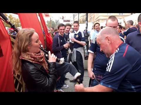 Tartan Army Warsaw 14th Oct 2014 HD