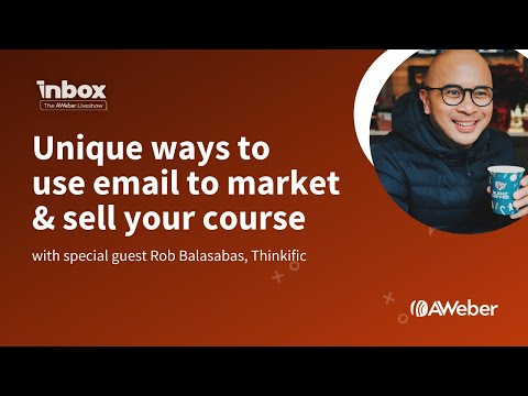 How to use email marketing to market & sell your online course