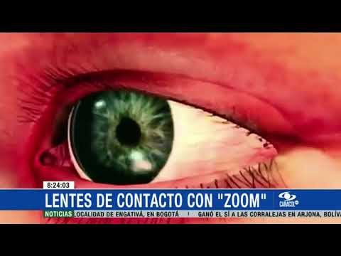 fbb9da4cad Avance tecnológico: lentes de contacto con 'zoom' - YouTube
