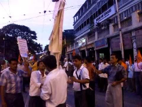 Hindu Protest Against Deganga Atrocities