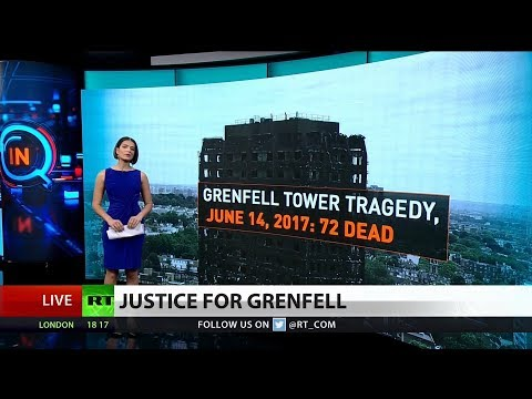 "UK Gov ""Gags"" Criticism of Theresa May over Grenfell Tragedy"