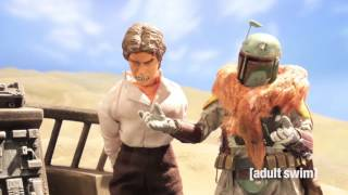 best of boba fett   robot chicken star wars special   adult swim