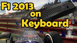 KEYBOARD CHALLENGE - F1 2013 Game