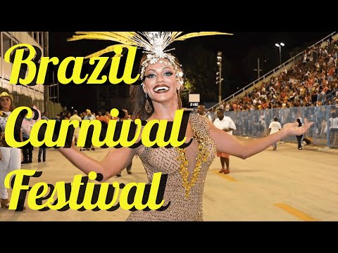 RIO 2016 CARNIVAL:  FESTIVAL OF THE WORLD with  STUNNING DANCERS & STYLES