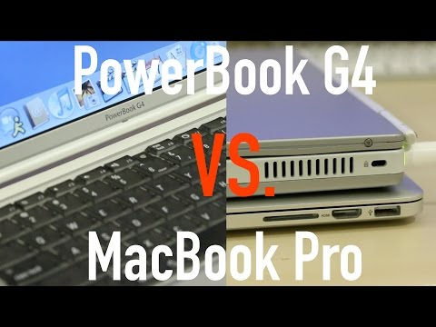 Is a Laptop from 2002 Still Usable? PowerBook G4 vs. MacBook Pro!