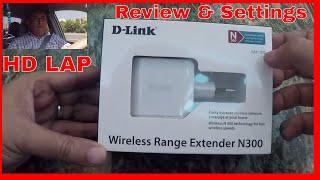 مراجعة ممدد نطاق واي فاي لاسلكي D-LINK N300  DAP 1320  وضبط اعدادانه D-LINK N300 [ DAP-1320 ] REVIEW
