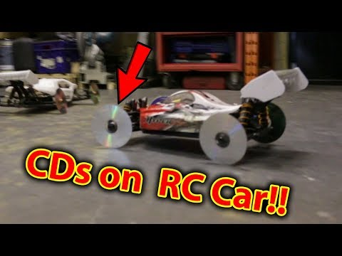 CD's on RC Car Destruction Derby CD DVD