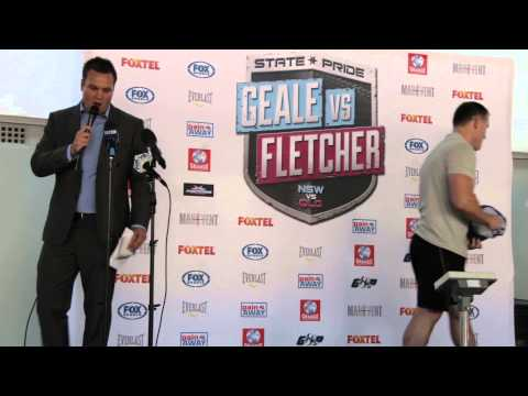 Paul Gallen V Anthony Watts Weigh-In & Face Off