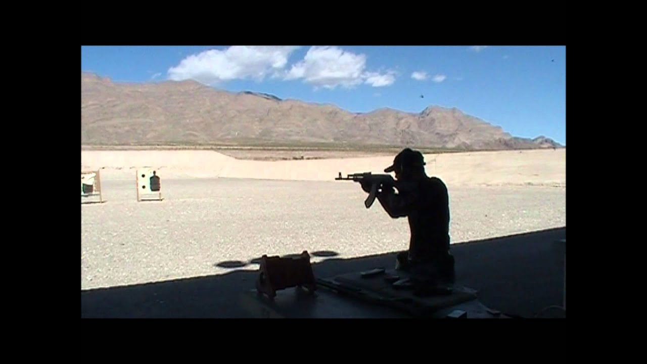 Vince shooting the Arsenal SLR-95 AK-47 Type 7 62x39mm 30rd