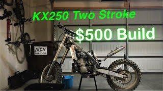 2003 KX250 Two Stroke Build