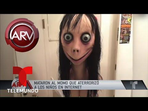 Creador de Momo decidió acabar a la muñeca | Al Rojo Vivo | Telemundo