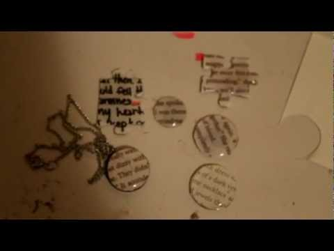 DIY: How to make Word Necklaces