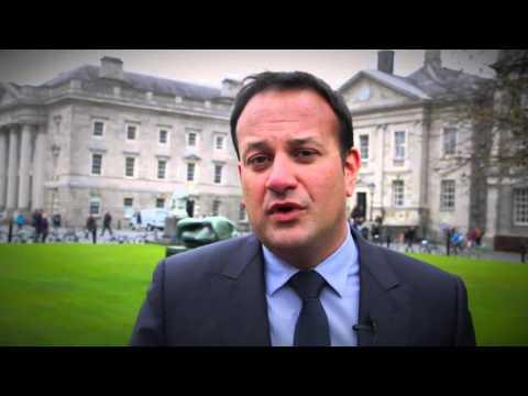 Minister Leo Varadkar backs Independent Senator Averil Power's Seanad campaign