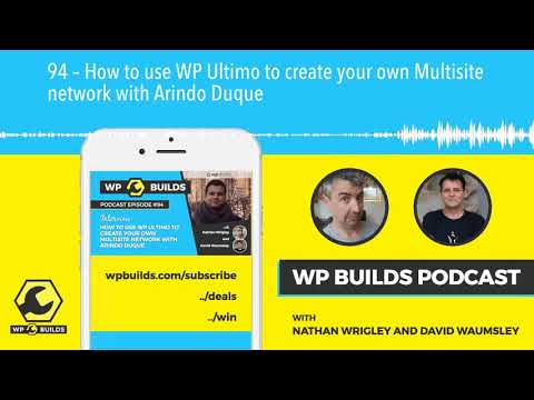 94 – How to use WP Ultimo to create your own Multisite network with Arindo  Duque 4595e41b3