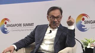 'It was painful,' says Malaysia's Anwar on his time in prison | Singapore Summit
