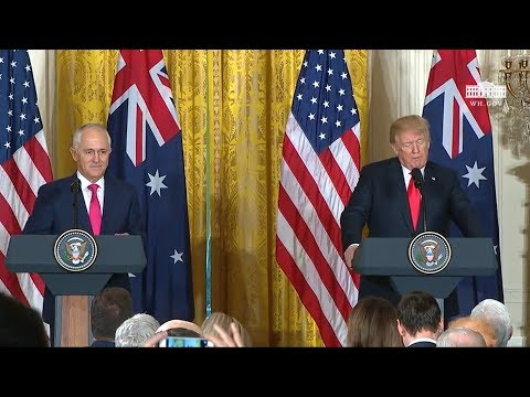 President Trump Holds a Joint Press Conference with Prime Minister Turnbull