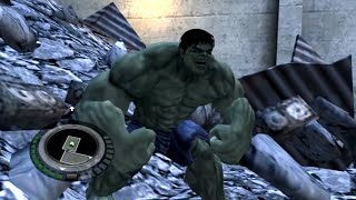 The Incredible Hulk Gameplay (PC/HD)