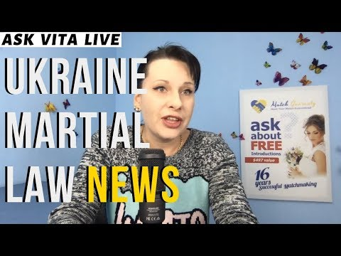 Ukraine Martial Law News Update LIVE Q&A