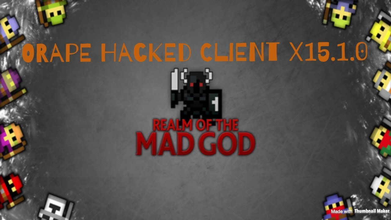 UPDATED) ROTMG-Realm of the Mad God Hacked Client ORape x18 0 0