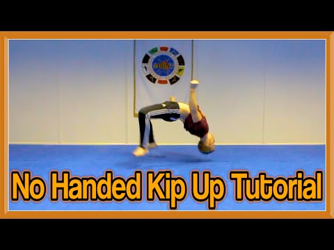No Handed Kip Up / Kick Up Tutorial | GNT How to