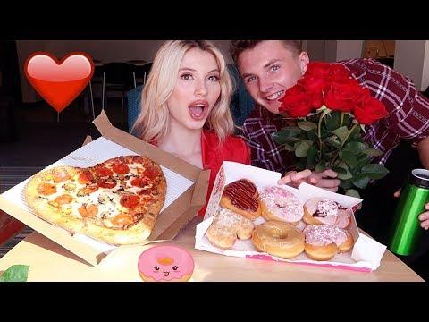 pizza-hut-&-donuts-mukbang-+-how-we-met!!!