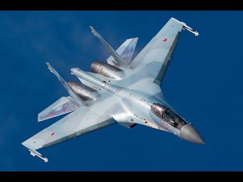 Невероятный пилотаж Су-35С