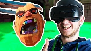 - КОГТИ РОСОМАХИ ПРОТИВ ВСЕХ БОССОВ Gorn VR Windows Mixed Reality