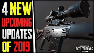 PUBG Mobile 4 New Upcoming Updates of 2019 | Friendly fire, New Weapon & More!