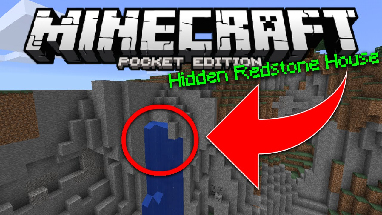 minecraft secret redstone base map download