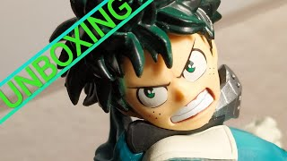 UNBOXING DE LA FIGURINE *THE AMAZING HEROES VOL.1* (IZUKU MIDORIYA)